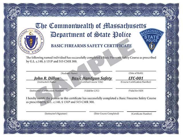Gun Safety Training | MassGunSafety.net